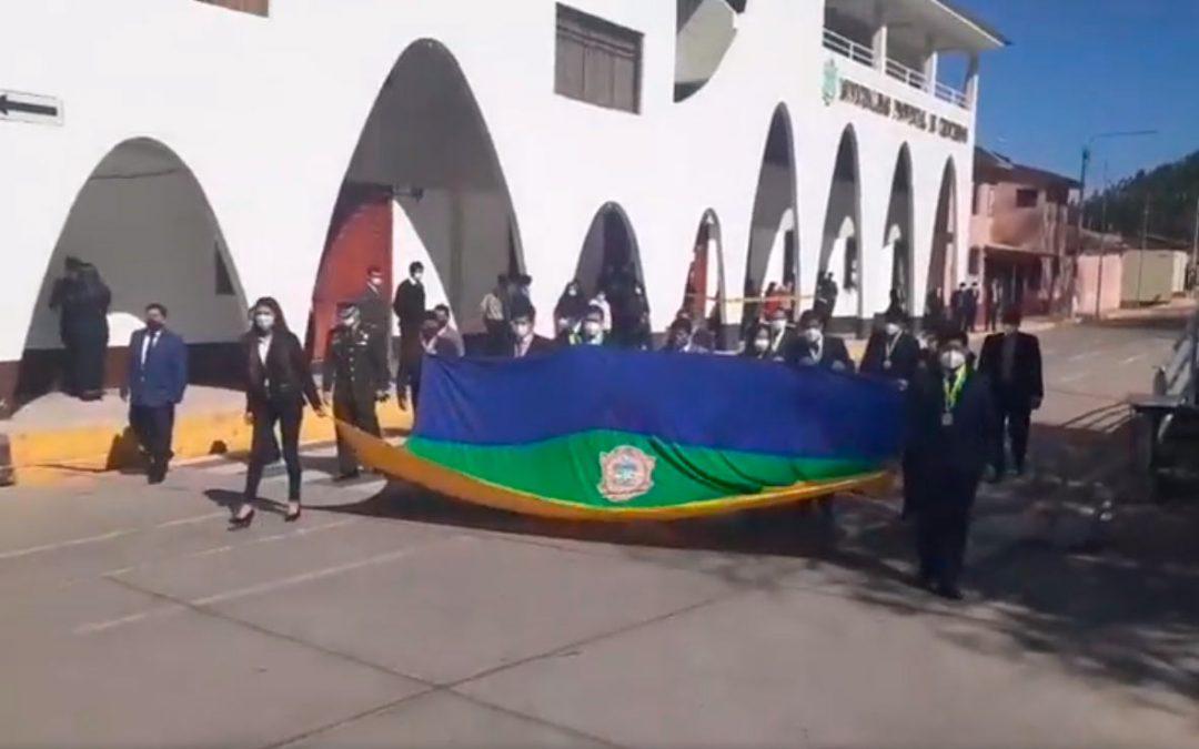 Desfile por el aniversario