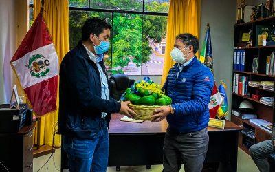 El ALCALDE (E) DE LA MUNICIPALIDAD PROVINCIAL DE CHINCHEROS SR. CLIVE QUINTANILLA LLOCCLLA REVELA LA PROBLEMÁTICA EN EL SECTOR SALUD DE NUESTRA PROVINCIA TRAS LA VISITA DEL CONGRESISTA DE LA REPUBLICA DR. OMAR MERINO.